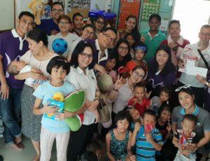 ซอร์ไพร์สงานวันเด็กแห่งชาติ จากสองโรงแรมในพัทยา  โรงแรม Mercure Ocean  Resort และ โรงแรม  Ibis