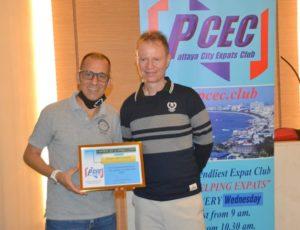 Thanks to Pattaya Expat Club
